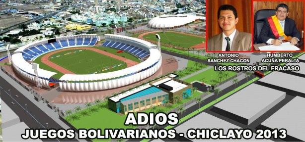 Chclayo perdio la sede bolivariana