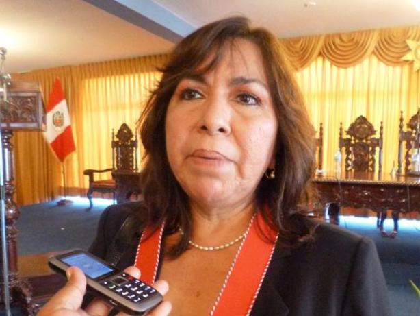 Fiscal Carmen Miranda Vidaurre.