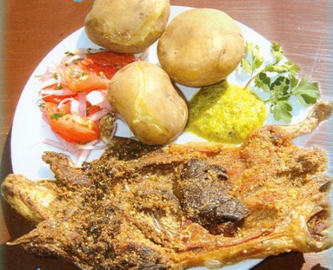 Sopa Peruana con carne de Cuy.  Foto Internet