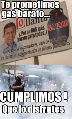 El Gas de Ollanta Humala