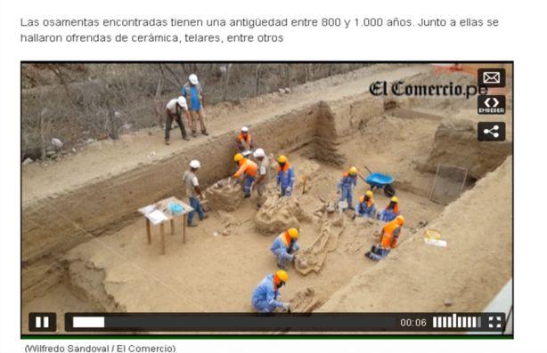 35 tumbas en Olmos