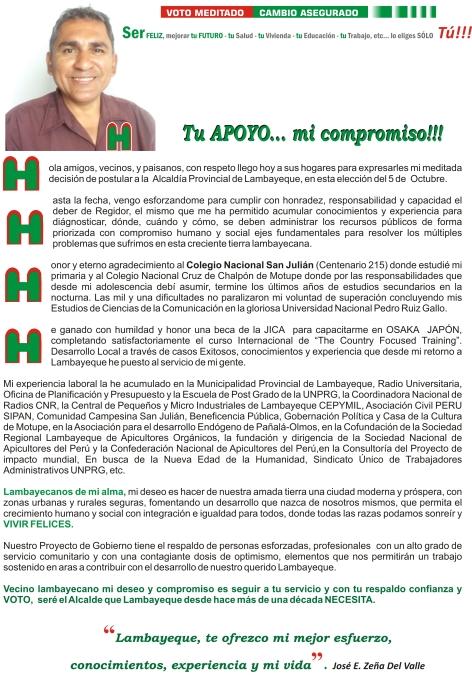 CARTA DE PRESENTACION ZEÑA