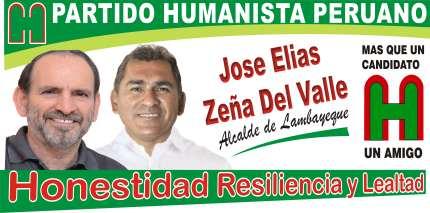 Pepe Zeña  Alcalde de Lambayeque