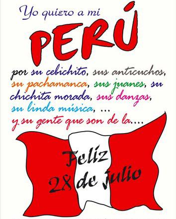 feliz dia de la independencia - 28 de julio - perú 06