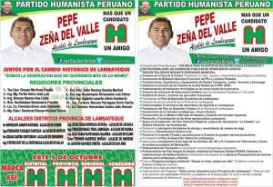 Pepe Alcalde  y regidores de Lambayeque