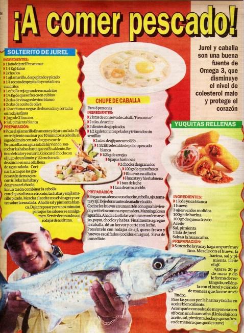 a comer pescado