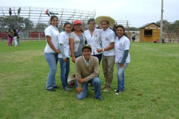 Equipo de Juzgamiento de Ganado Holstein de la Facultad de Ingeniería Zootecnia-UNPRG